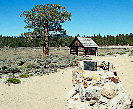 Site of 1859 gold townBelleville in Holcomb Valley near Big Bear